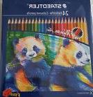 STAEDTLER 24 Farbstifte Colored Pencils Rich & Brilliant Col