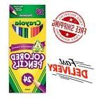 Crayola 24 Pack Colored Pencil Sharpener Holder Color Colore