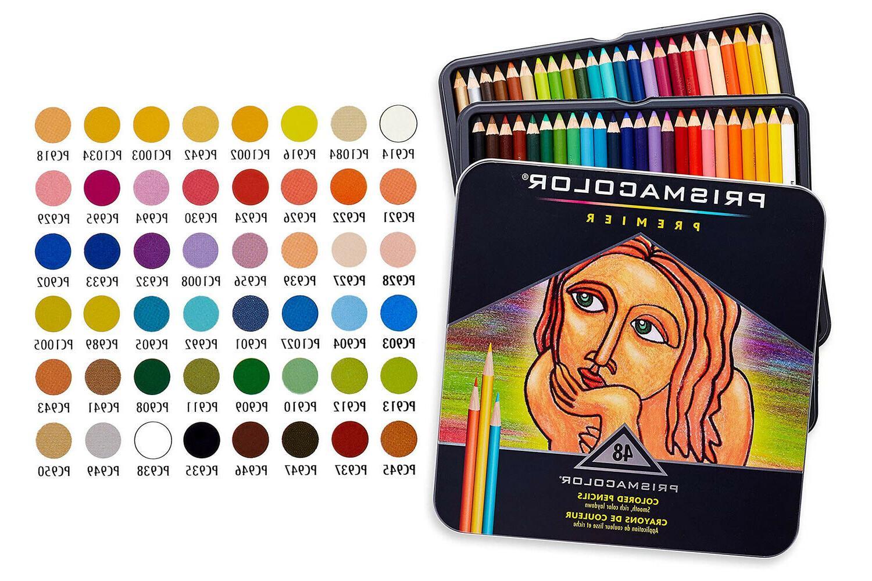 3598t premier soft core colored pencils 48