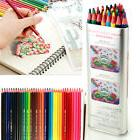 36/48/72 Colors Watercolor Colored Pencils Set Water-Soluble