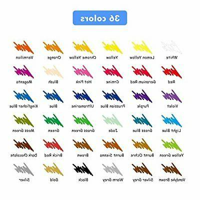 36 Color Oil Marco Art Drawing Non-toxic Set For Artist