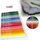 36 pcs Wood Non-toxic Colored Drawing Pencils 36 Colors Draw