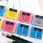 4 Colors Soft Faber-Castell Drawing Rubber Eraser Pencils Gr