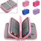 4 Layers Nice Capacity Pencil Brush Case Box Pen Pouch Bag M