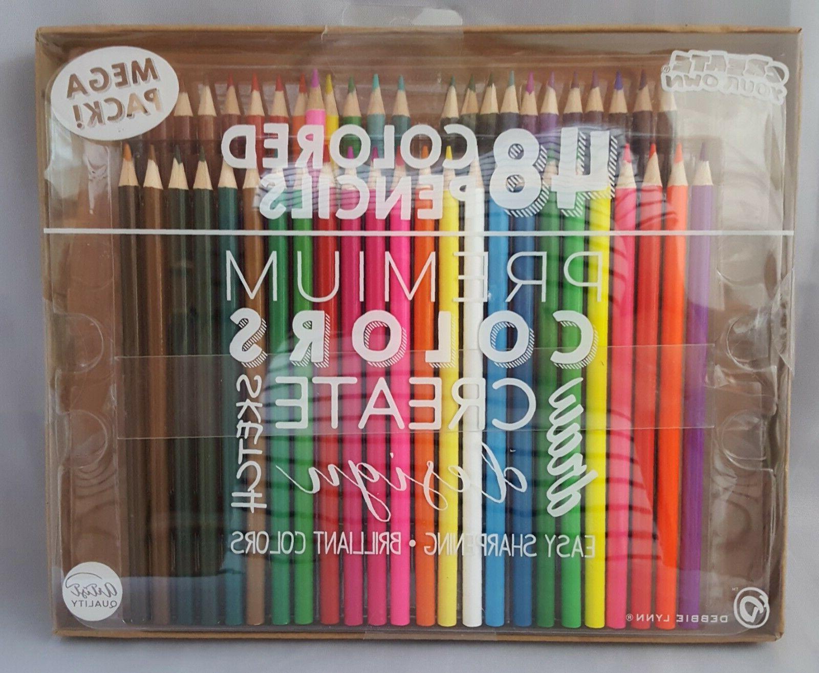 48 premium colored pencils create your own