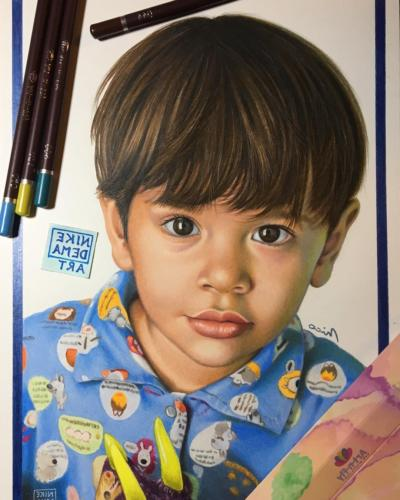 48 Coloured Pencils Including Skin Tone
