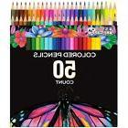 US Art Supply 50 Piece Adult Coloring Book Artist Grade Colo