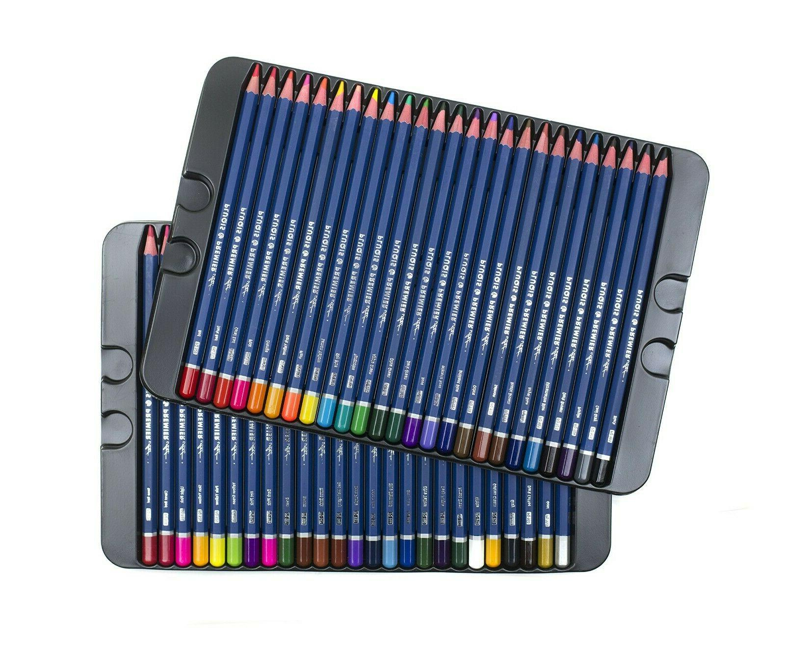 50 prismacolor premier colored pencils platinum soft