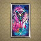 5D DIY Diamond Embroidery Painting Owl Wall Picture Home Off
