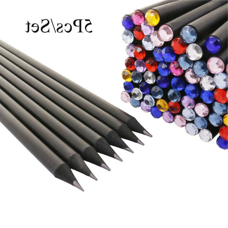 Stationery Writing Tool Drawing Supplies Hb Black Pencil Col