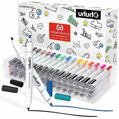 60 pack dry erase markers pen kit
