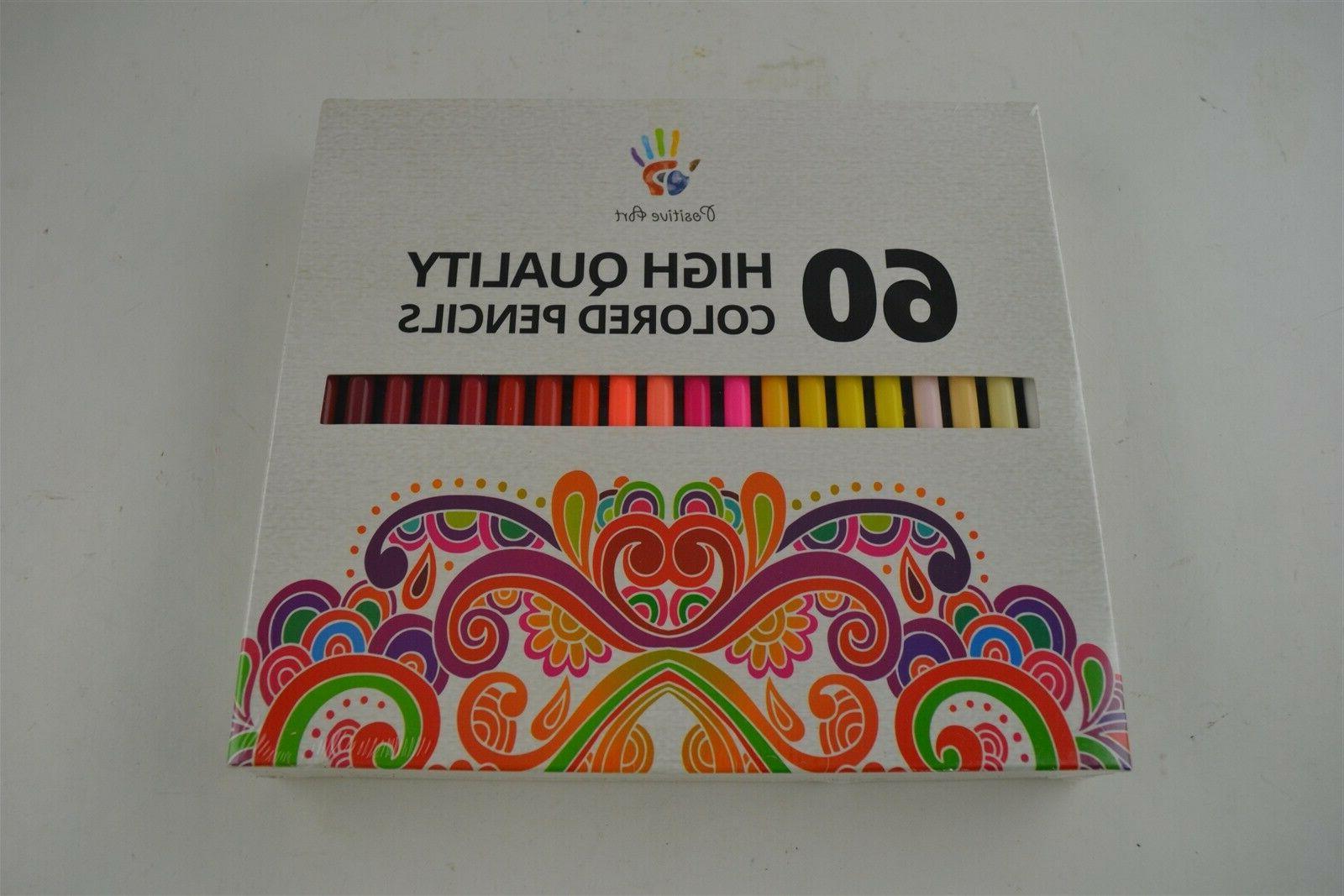 60 unique colors premium pre sharpened colored