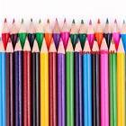 60 x LARGE COLOURED PENCIL PACK School Stationery Children/K
