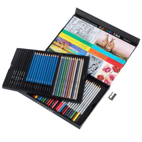 60pc Art Colored Set Sketching Kit