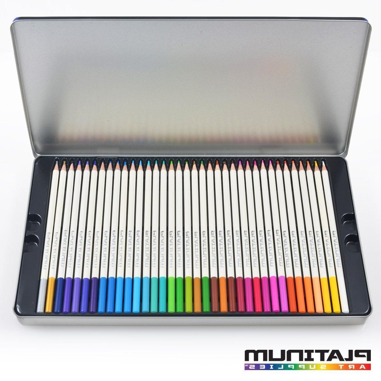 72 Colored Pencils Platinum Artist Paint