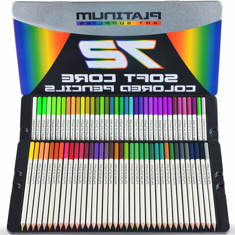 72 Pencils Platinum Artist Case