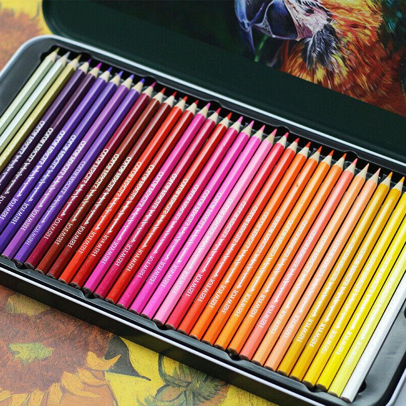 72 Pencils Premier Oil Based Colored Drawing Artist Kit