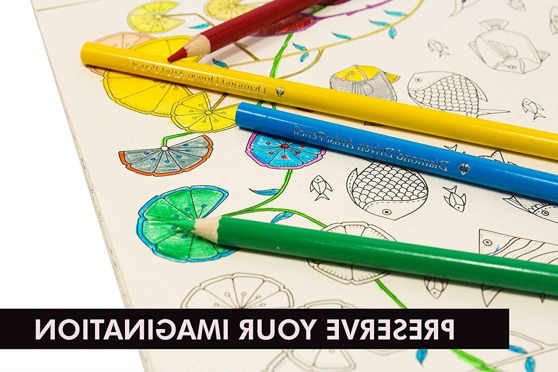 72 Premier Pencils Soft Core Artist Paint Tin Case