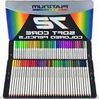 Tin Case 72 Prismacolor Premier Colored Pencils Platinum Sof