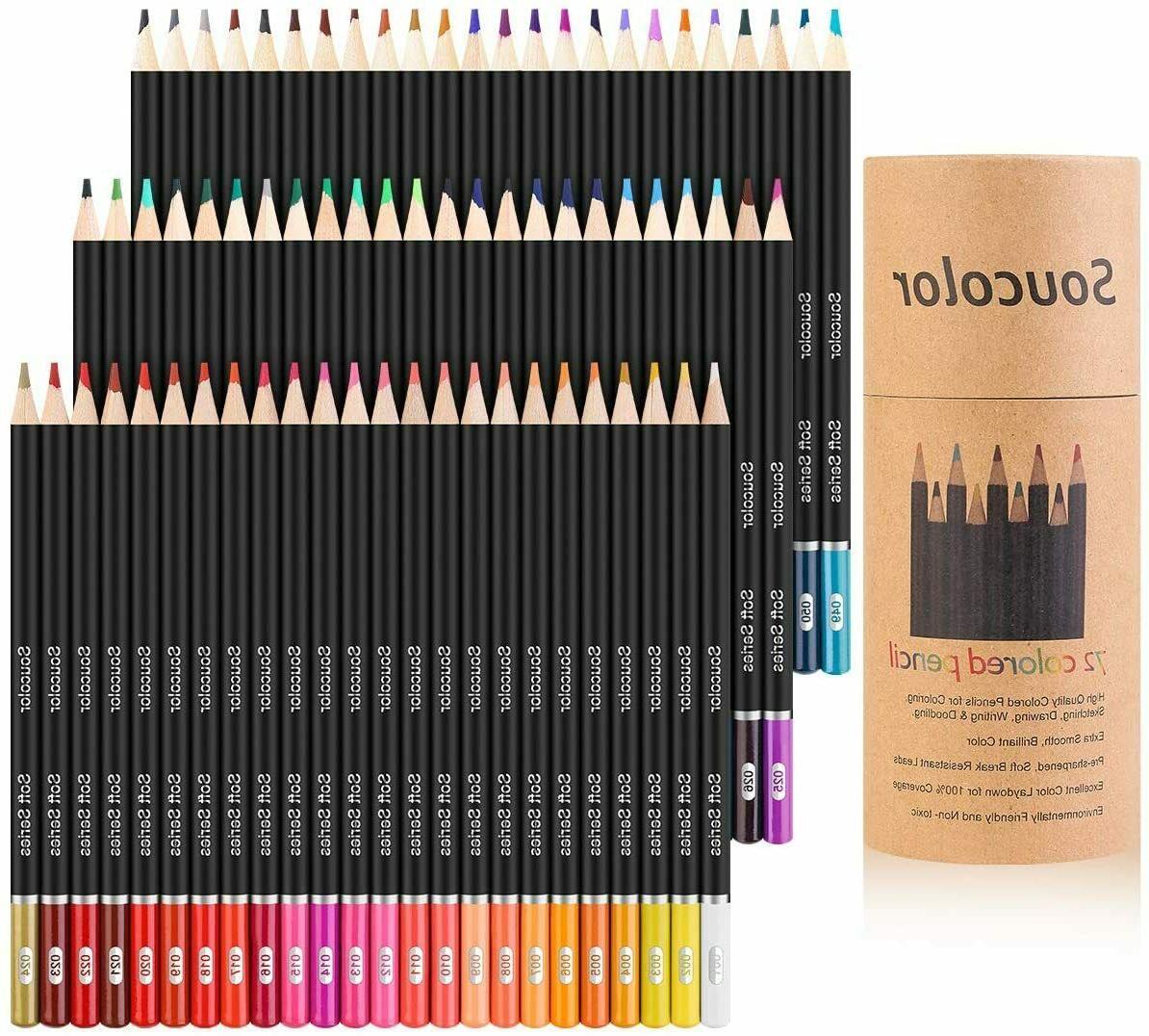 72 Prismacolor Premier Colored Pencils Platinum Soft Core Ar