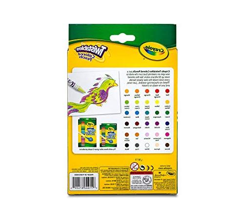Crayola 68-7409 Pencils, 30 Stocking Stuffer, Gift,