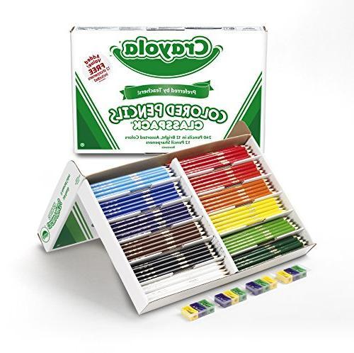 Crayola Pencil Bulk Classpack, 12 240 Count 68-8024