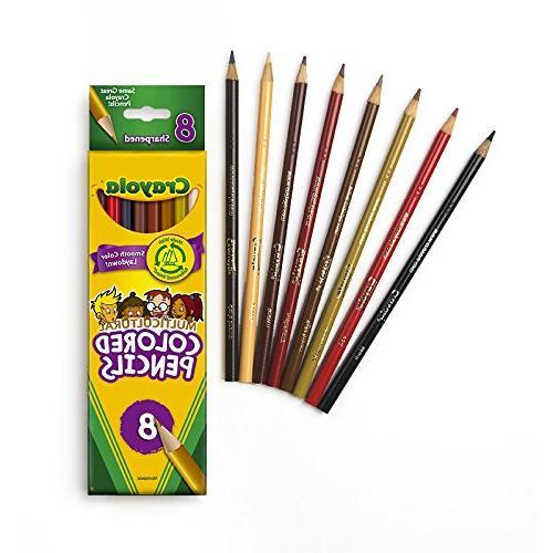 Crayola Multicultural Pencils, Set