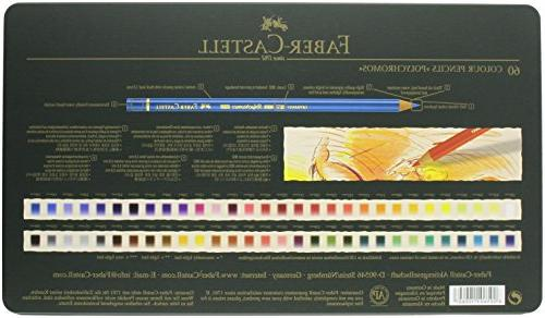 Faber-Castel Colored Pencil Set In Tin,