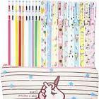 Jetec 10 Pieces Unicorn Flamingo Gel Ink Pens Plus Unicorn P
