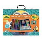 Kid Crayons Painting Art Set Case Minions Colored Pencils Dr