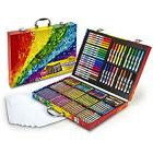 Kids Art Set Portable Case 140 Piece Markers Colored Pencils