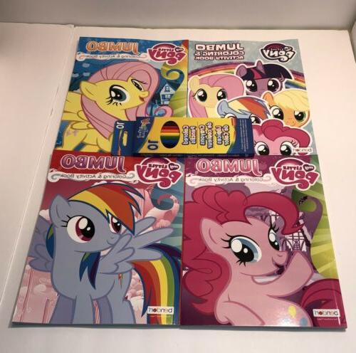 My Little Pony Jumbo Coloring & Activity Book Color 96 Pages