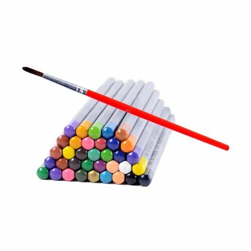 Ohuhu Assorted Colors Pencil Drawing Watercolor Pencils Case