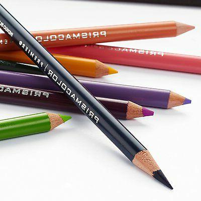 Prismacolor Colored Soft Core,Set of 24 Pack, Colors Tin Case