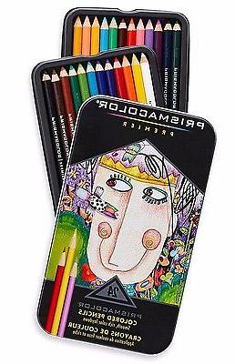 Prismacolor Colored Soft of Pack, Tin Case
