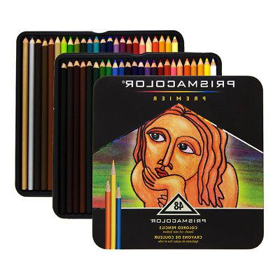 Prismacolor Premier Colored Pencils Soft Core,Set of 24 Pack