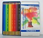 STAEDTLER 12 Assorted Karat Aquarell WATERCOLOR Colored Penc