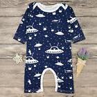 Alien UFO Top Baby Kids Boy Girl Infant Romper Jumpsuit Body