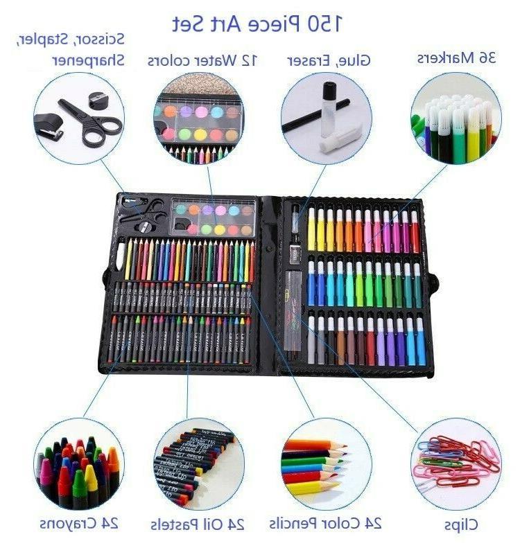 Art 150pcs For Kids Teens Color Pastels Box