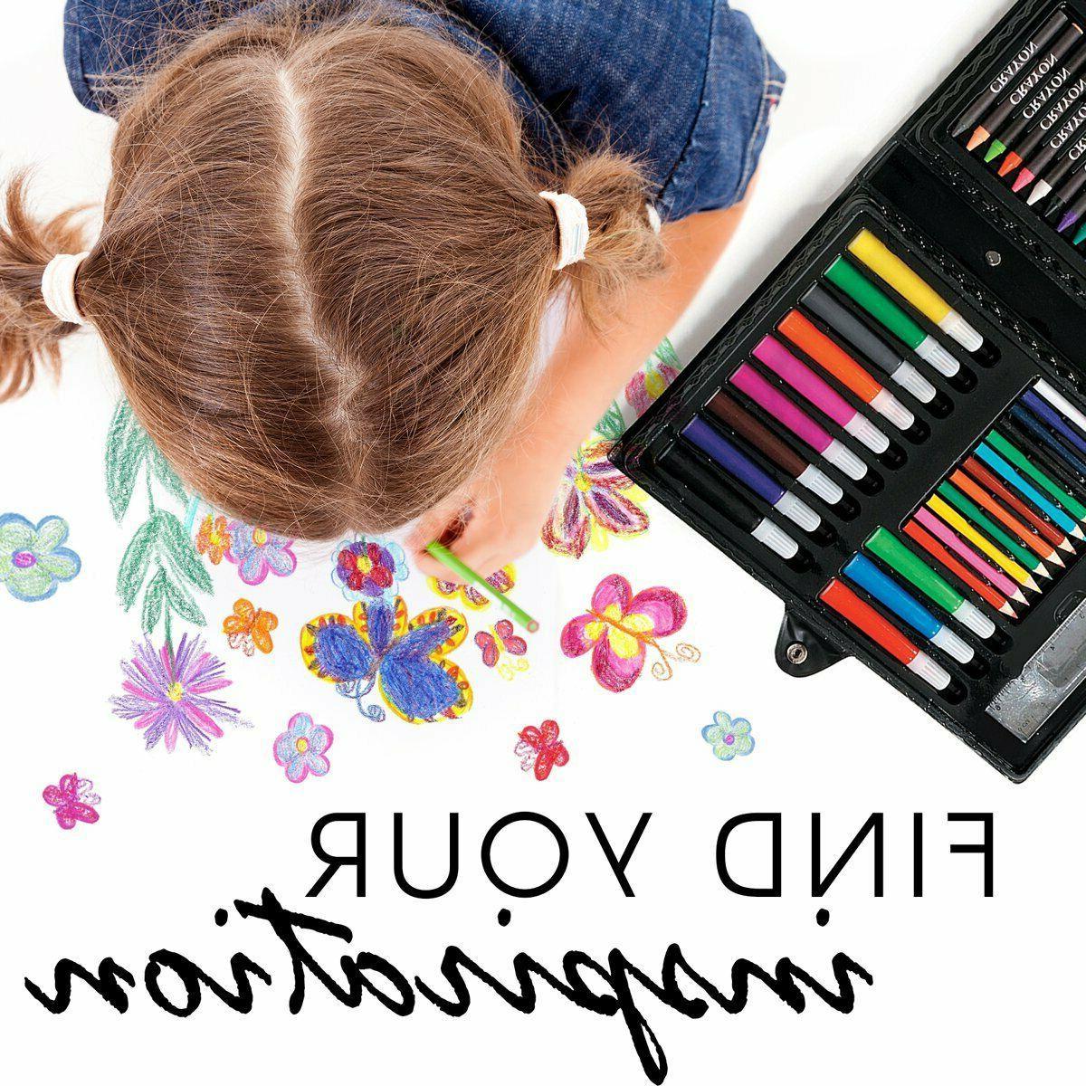 Art Kit Kids Teens Adults Supplies Drawing Painting Set
