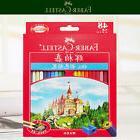 Assorted 48 Colors Faber Castell Castle hexagonal Color Oil