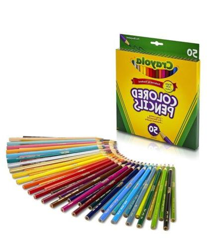 assorted colored set pencils pencil colors color
