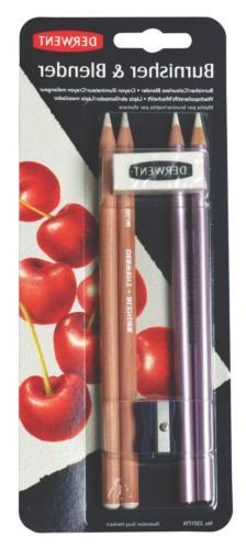 Derwent Blender and Burnisher Pencil Set, Drawing, Art Suppl