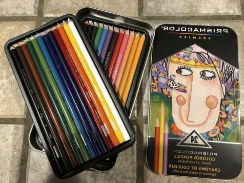 brand new prismacolor premier 24 colored pencils