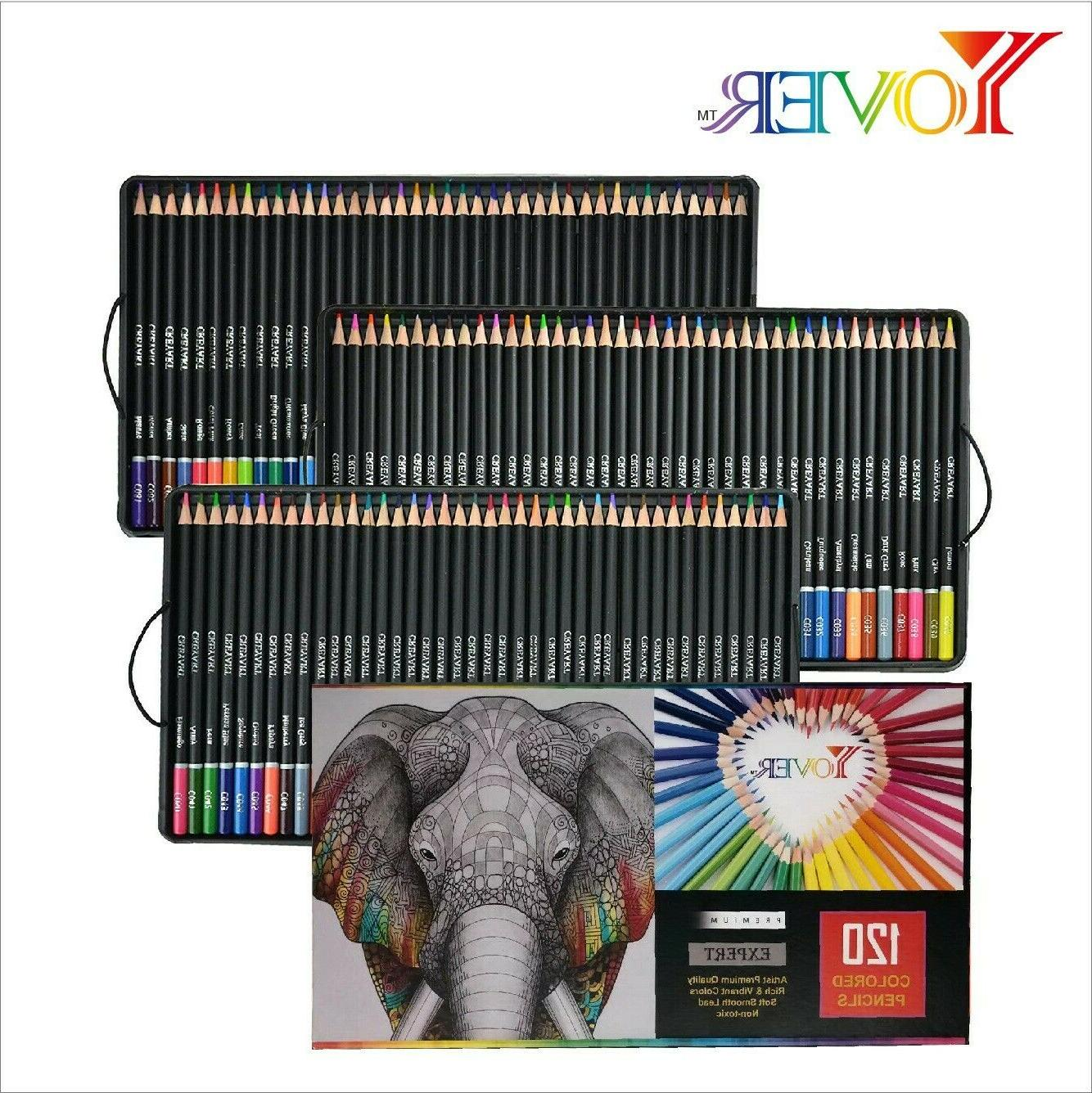 120-Professional Watercolor Pencils for Adults & Kids Drawin