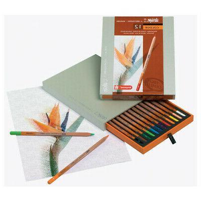 canson 8805h12 design colored pencil 12 set