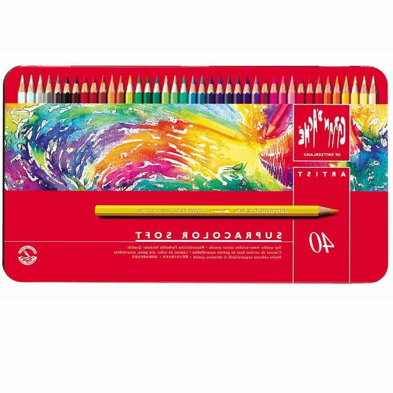 caran d ache supracolor soft colored pencils