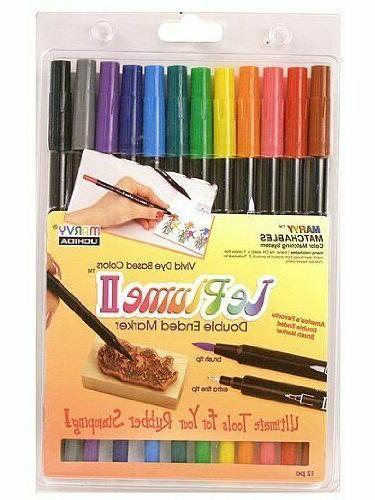 Marvy Color-In Watercolor Twist Loft Colored