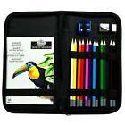 Color Pencil Drawing Art Set Sketch Painting Artist Kit Smal