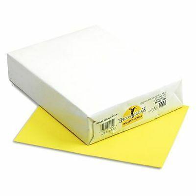 Colored Paper,Lemon Yellow,PK500 PACON 102055